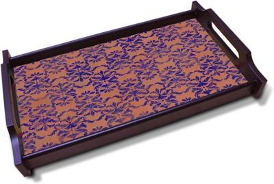 Kolorobia Starfish Orange Solid Wood Tray