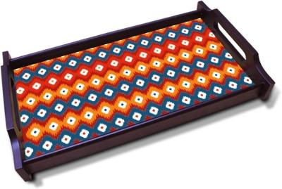 Kolorobia Striking Colorful Solid Wood Tray