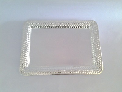 Eventz Gifts Royal Solid Silver Plated Tray