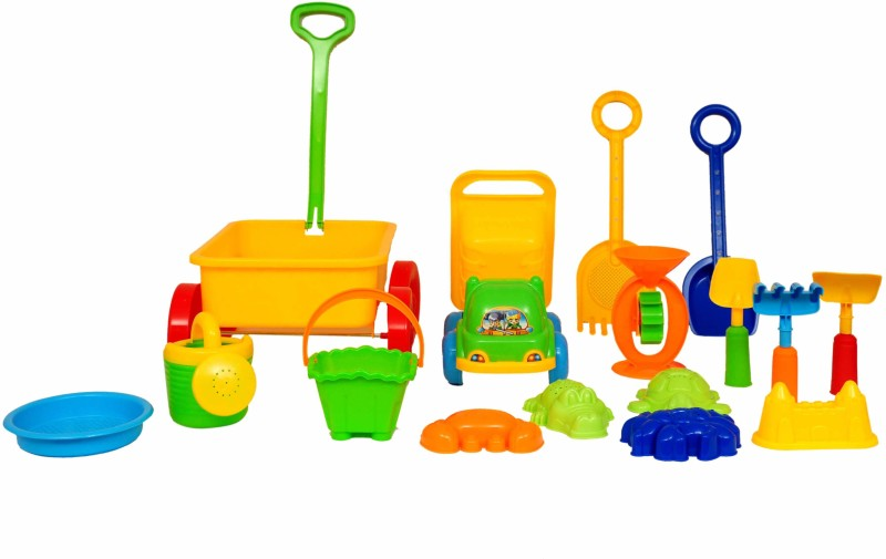Planet of Toys Playground Activity Set(Multicolor Plastic)