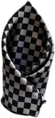 Urban Diseno Checkered Satin Pocket Square