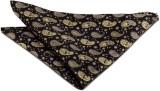 The Vatican Floral Print Silk Pocket Squ...