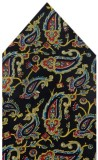 Navaksha Floral Print Silk Pocket Square