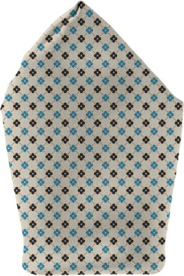 The Fappy Store small flowers Printed Microfibre Pocket Square