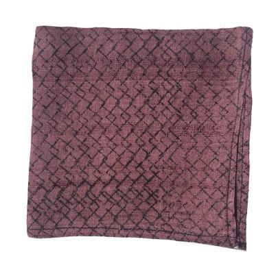 Jupi Checkered Silk Pocket Square