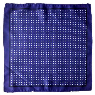 FCS Printed Microfibre Pocket Square
