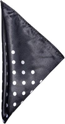 Espana Polka Print Microfibre Pocket Square