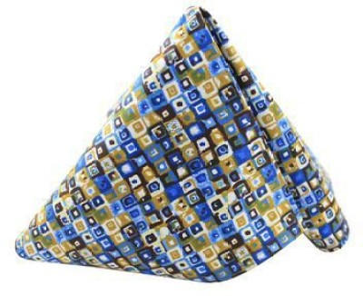 Moods And Hues Blueprint Geometric Print Cotton Pocket Square
