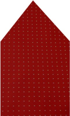 Navaksha Polka Print Microfibre Pocket Square