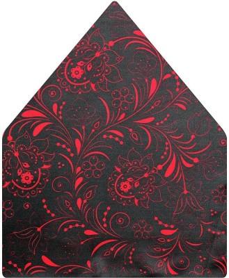 Tiekart Floral Print Polyester Pocket Square