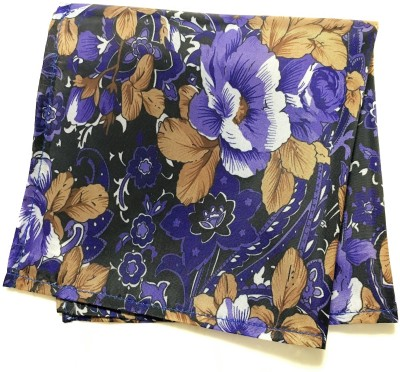 69th Avenue Floral Print Micro Polyester Pocket Square