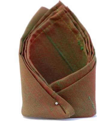 Jupi Striped Silk Pocket Square