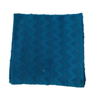 Jupi Self Design Silk Pocket Square