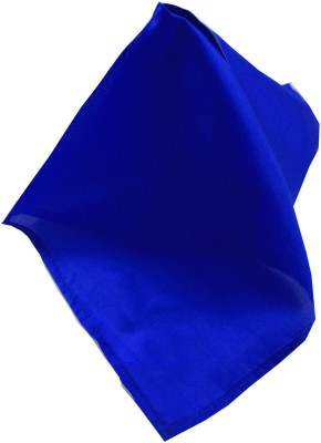 Moods And Hues Bluesolid Solid Satin Pocket Square