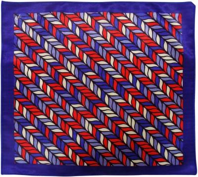 Serebroarts Printed Silk Pocket Square
