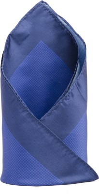 CAZZANO Checkered Microfibre Pocket Square