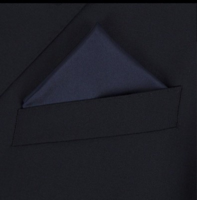 Classique Solid Satin Pocket Square