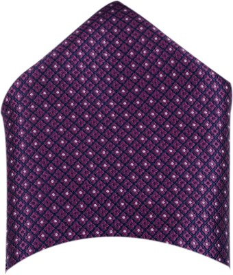 Macrobian Checkered Microfibre Pocket Square