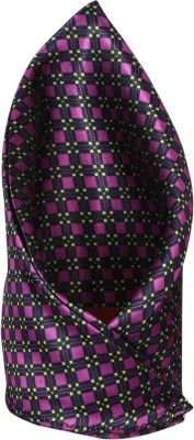 Clareo Checkered Microfibre Pocket Square