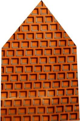 Navaksha Geometric Print Satin Pocket Square