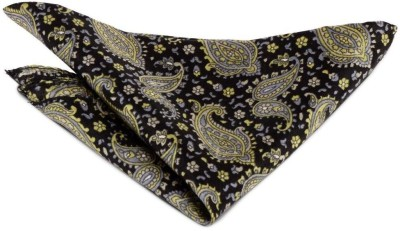 The Vatican Floral Print Silk Pocket Square