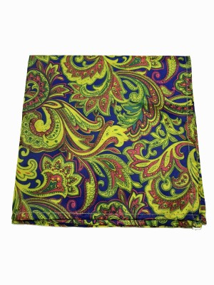 69th Avenue Geometric Print Micro Polyester Pocket Square