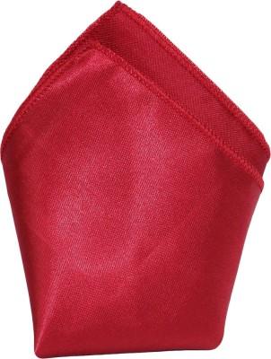 Style N Fashion Solid Silk Pocket Square