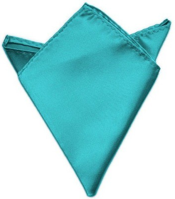 Fancy Steps Solid Satin Pocket Square
