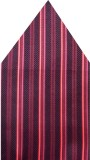Navaksha Striped Microfibre Pocket Squar...