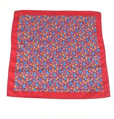 Sir Michele Floral Print Microfibre Pocket Square