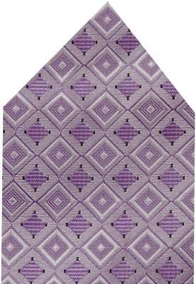 Navaksha Self Design Microfibre Pocket Square