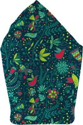The Fappy Store floral Printed Microfibre Pocket Square