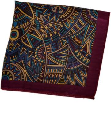 Classique Printed Satin Pocket Square