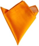 The Vatican Solid Silk Pocket Square