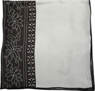 CHOKORE Geometric Print Silk Pocket Square