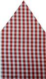 Navaksha Checkered Microfibre Pocket Squ...