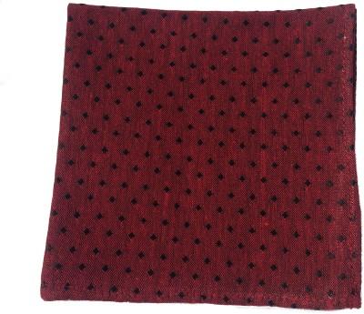 Jupi Polka Print Silk Pocket Square