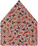 Tiekart Printed Silk Pocket Square