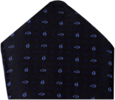 Macrobian Self Design Microfibre Pocket Square