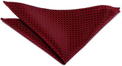 The Vatican Checkered Microfibre Pocket Square