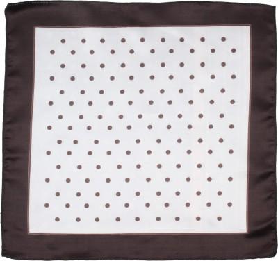 Eccellente Polka Print Satin Pocket Square