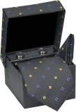 Tiekart Self Design Microfibre Pocket Sq...