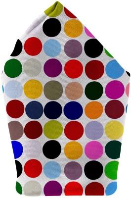 The Fappy Store Dots Printed Microfibre Pocket Square