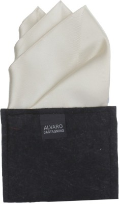 Alvaro Self Design Microfibre Pocket Square