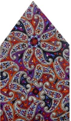 Navaksha Floral Print Silk Pocket Square