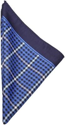 Espana Checkered Microfibre Pocket Square