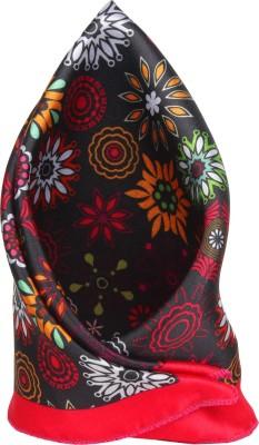 Eccellente Floral Print Satin Pocket Square