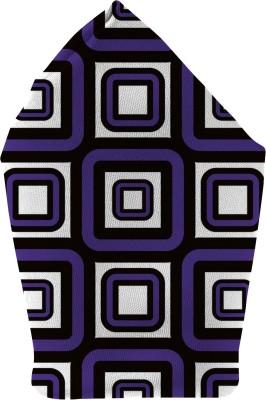 The Fappy Store squares purple Printed Microfibre Pocket Square