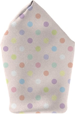 The Fappy Store pastel dots Printed Microfibre Pocket Square
