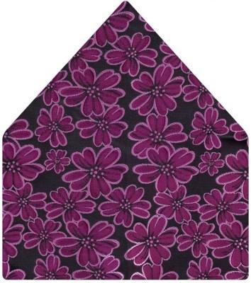 Tiekart Floral Print Microfibre Pocket Square